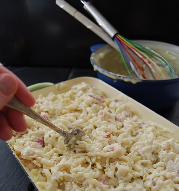 Spätzle and Cheese sauce