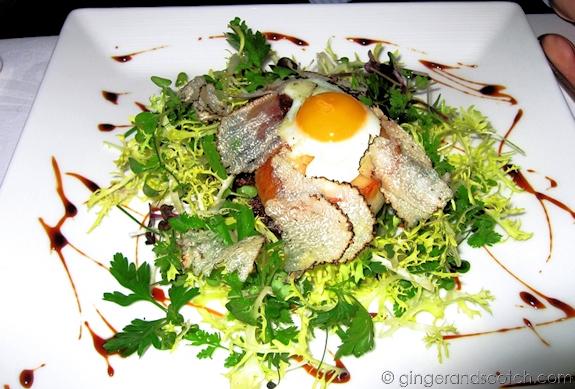 Oxtail Salad from Al Muntaha, Burj Al Arab
