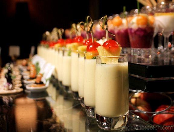 desserts at Sofitel, JBR Dubai