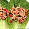 Spicy Chicken Lettuce Wraps