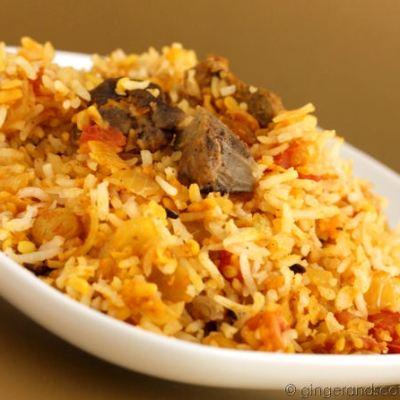 Emirati Recipe: Lamb Biryani (La-ham biryani)