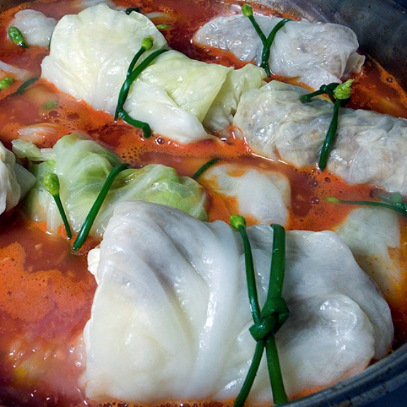 Vietnamese Cabbage Rolls