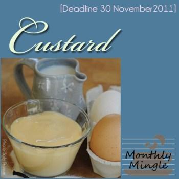 meeta's monthly mingle badgle - custard