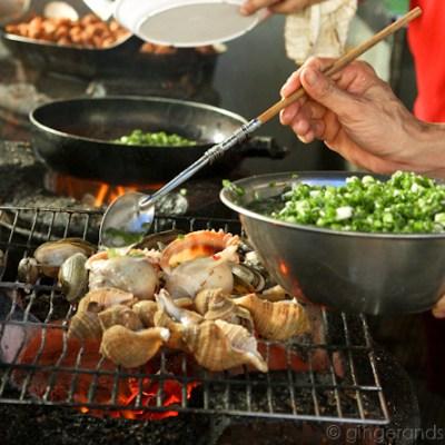 Scrumptious Snails in Saigon @ Õc Ðào Restaurant
