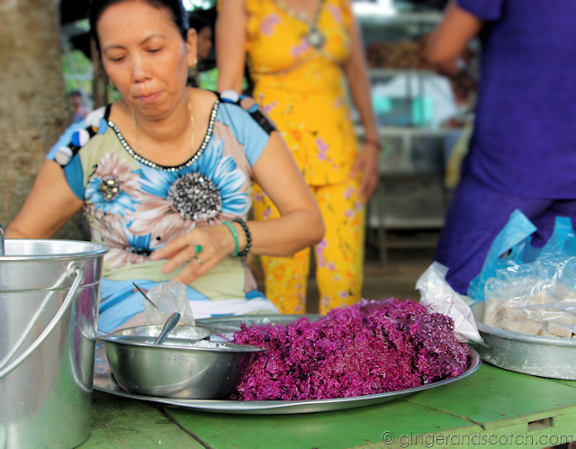 Mekong Homestay - Market - Purple Rice