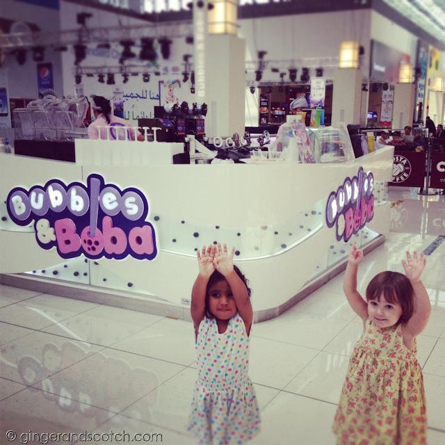 Bubbles and Boba - Dubai Mall