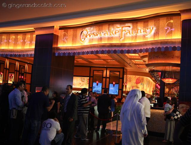 Cheesecake Factory - Dubai Mall