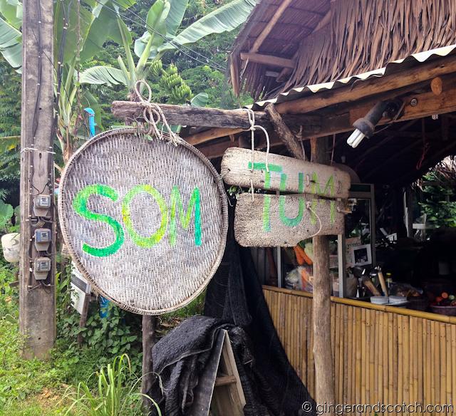 Som Tum Restaurant - Koh Lanta, Thailand