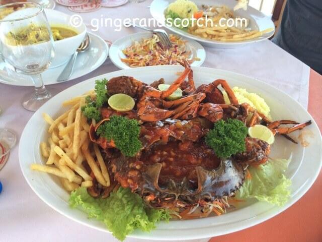 Sri Lanka - Lunch at Aida