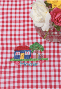 cross stitch gingham