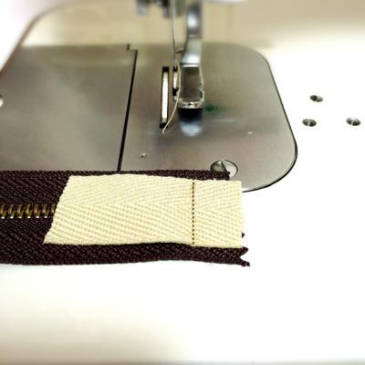 ミシン縫い後