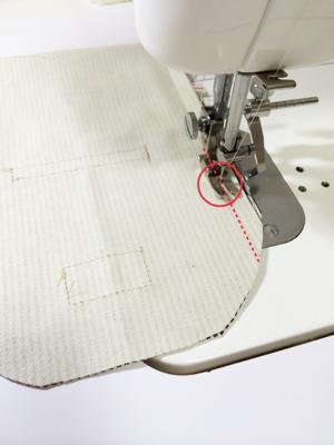 カーブを縫う