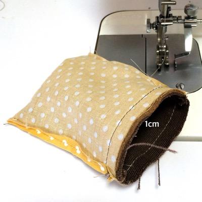 ミシンに縫い