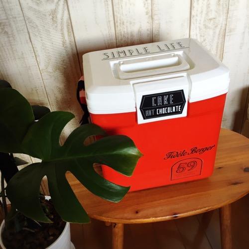 cooler boxアレンジ