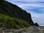 Entre la falaise et le fleuve