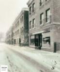 Neige sur le centre-ville II