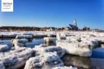 La glace cède peu à peu sa place