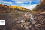 La rivière Rimouski et l'automne II