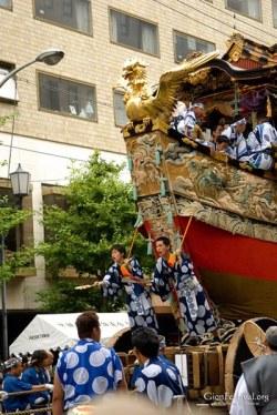 fune boko ondotori calling gion festival procession kyoto japan