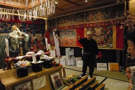 kuronushi yama treasure explanation gion festival kyoto japan