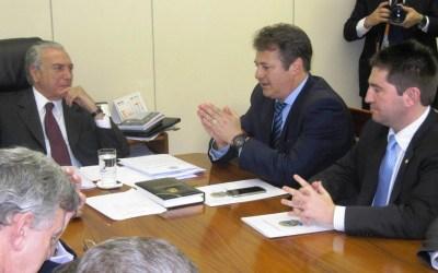 Crise da Saúde no RS – Bancada Gaúcha se reúne com Michel Temer