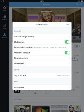 Twitter: bloccare l'avvio automatico di GIF e filmati (da web & app) 3