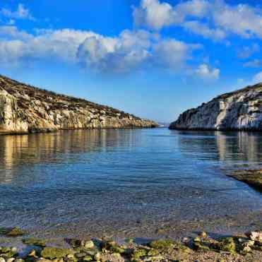 Spiagge a Gozo a Malta