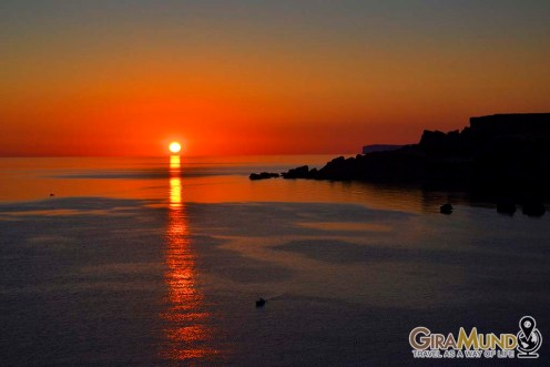 Sunet in Golden Bay