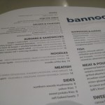 Dinner at Bannock