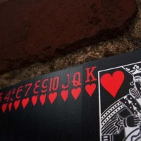 Design: Black, Red & White Deck of Cards