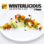 2015 Winterlicious Picks