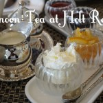 Afternoon Tea at Holt Renfrew