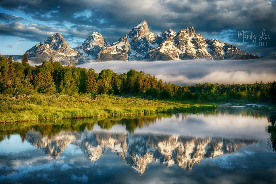 "On a photography vacation to the Tetons Mandy realized she wanted to leave her job of ten years and pursue photography full time. She says, ""The Mountains Made Me Do It!"" I can see why."