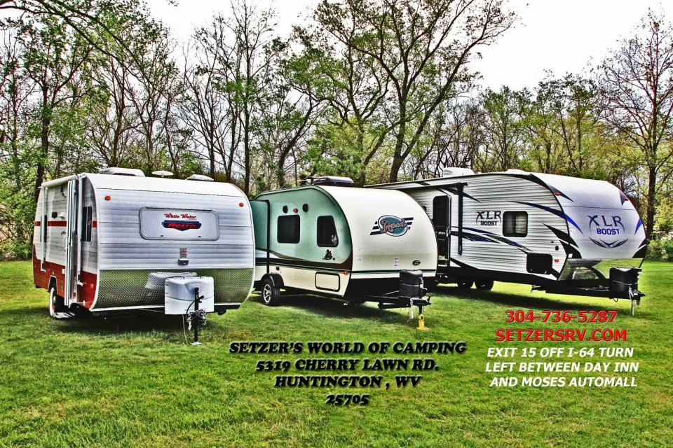 Camper College at Setzer's World of Camping is open to all on Friday, July 15 at 5 PM. Come join us!