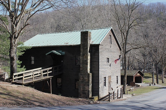 The Grist Mill at Beaver Creek State Park in East Liverpool, Ohio.