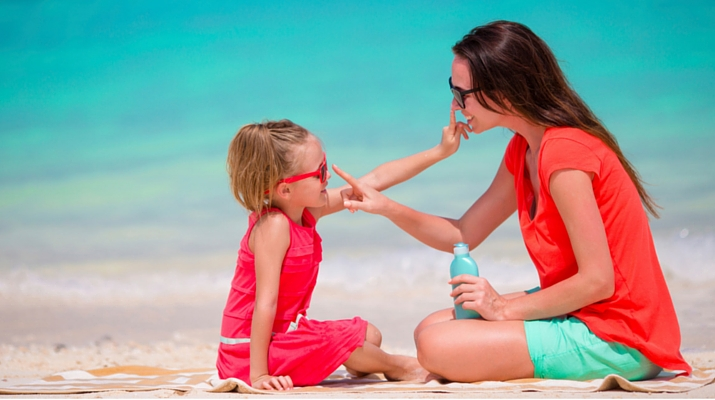 Mom and Child Sunscreen