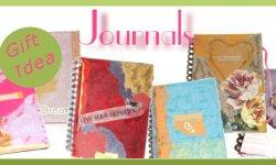 Gift Ideas for Women & Girls: Personal Journals