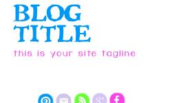 Free Blog Graphics (header & icons)