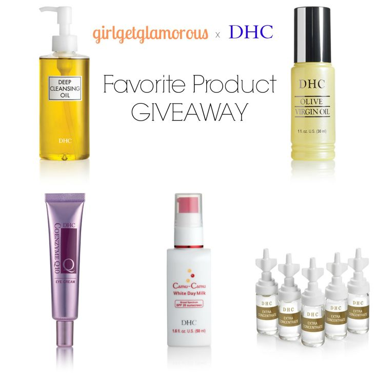 My top picks from DHC Skincare!