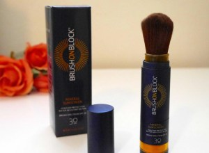 brush on block review demo beauty blog