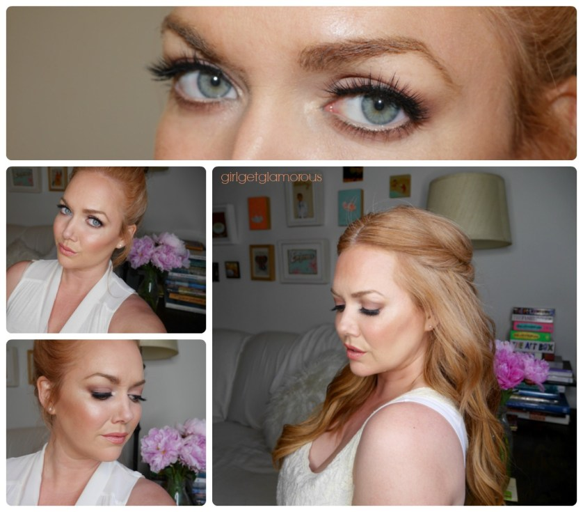 best bridal wedding top makeup full tutorial inspo ideas diy red hair strawberry blonde beauty blogger