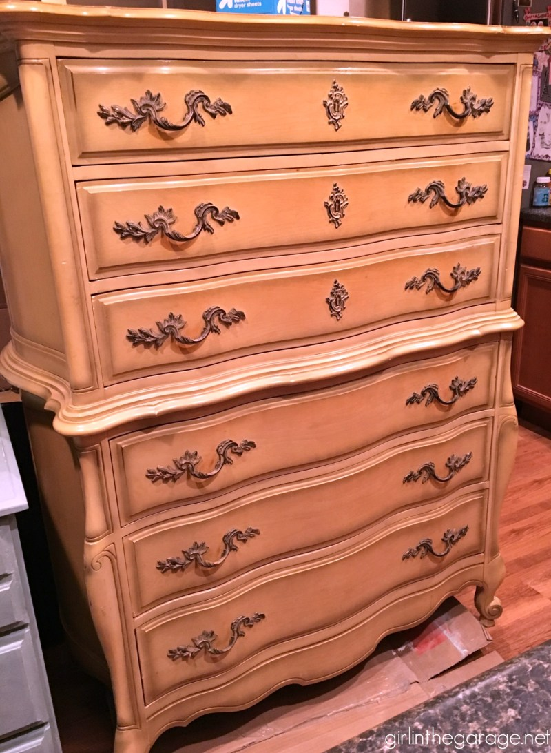 Large Of French Provincial Dresser