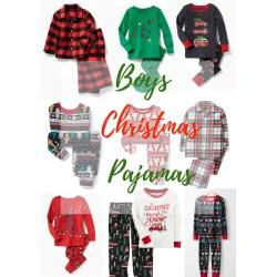 Small Crop Of Boys Christmas Pajamas