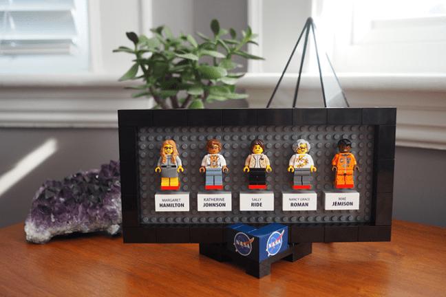 Women NASA Lego