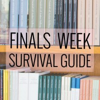 How To: Survive Finals Week