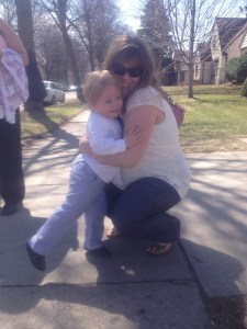 Mommy and Sam, Easter