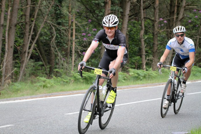 In action at the Wiggle UKCE Bournemouth Sportive riding the 58 Aero on my NeilPryde