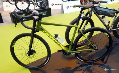 Cannondale fascinating new Slate - well worth checking out on the Fabric stand