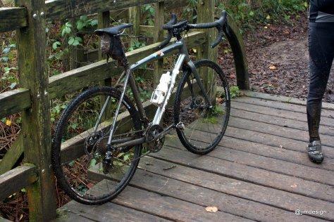Mid ride muddy-ness