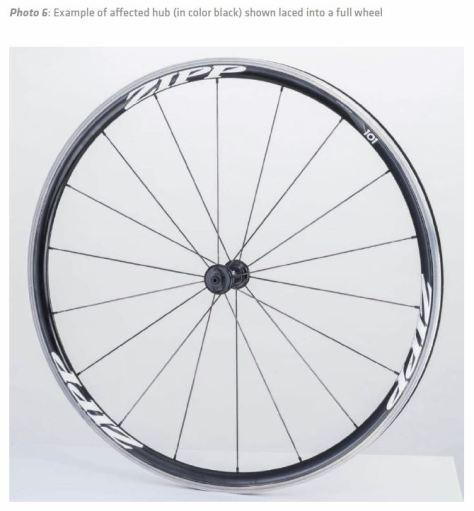 hub in wheel